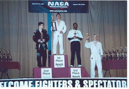 Dustin Thornton Naga Worlds 1st place