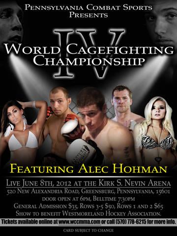 Alec Hohman flyer