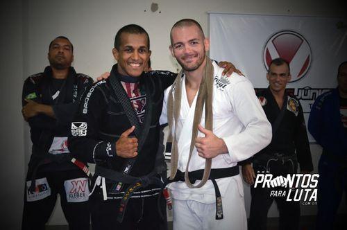 Casey Leonard BJJ Black Belt