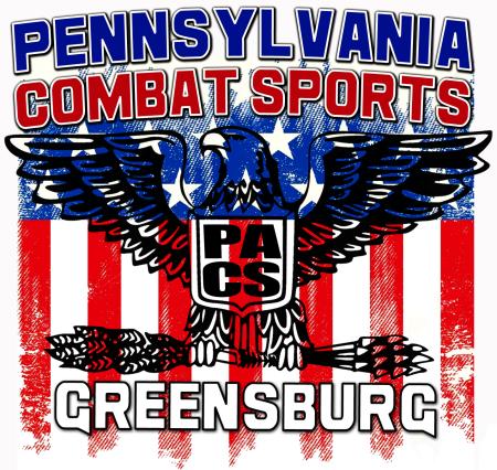PACS American Flag logo design small copy