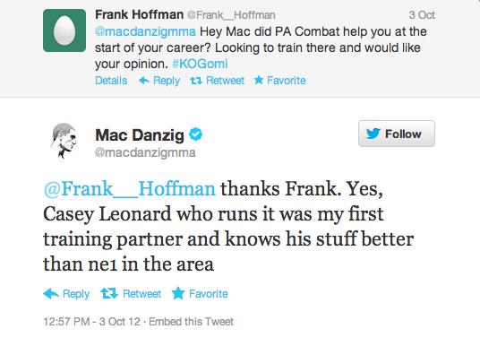 Mac danzig testimonial