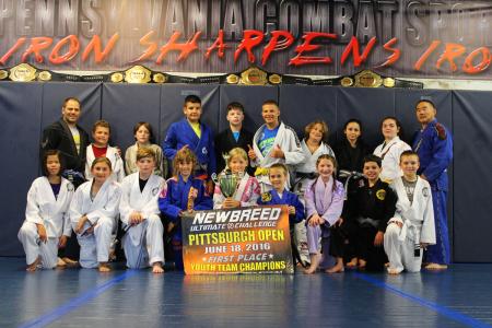 PACS kids team trophy pic